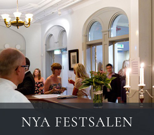 Nya Festsalen hos Restaurang Tegnérs Matsalar i Lund