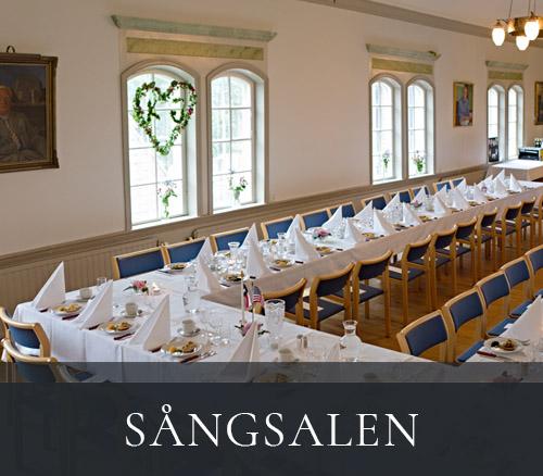 Sångsalen - festsal hos Tegnérs Matsalar i Lund