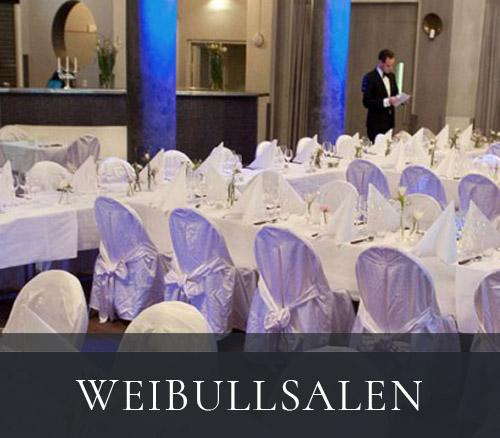 Weibullsalen - festlokal hos Tegnérs Matsalar i Lund